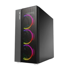 Ant Esports ICE-511MT Mid Tower Mesh Gaming Cabinet