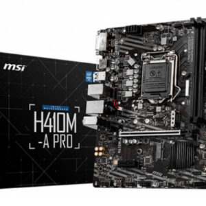 msi h410m a pro motherboard